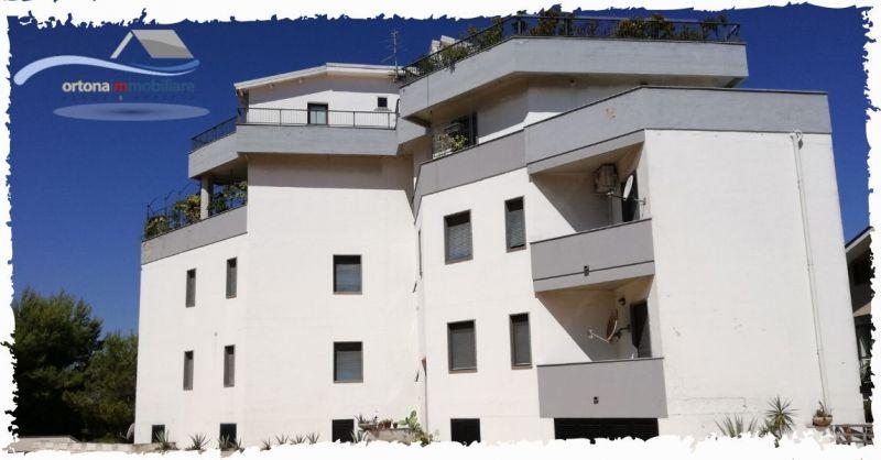ORTONAIMMOBILIARE - Occasione vendita appartamento luminoso con vista vallata Maiella Ortona
