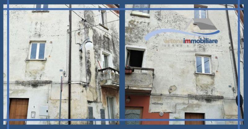ORTONAIMMOBILIARE - Offerta vendita porzione fabbricato con appartamenti ad Ortona Chieti