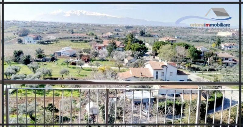 ORTONAIMMOBILIARE - Occasione vendita appartamento panoramico luninoso come investimento Ortona