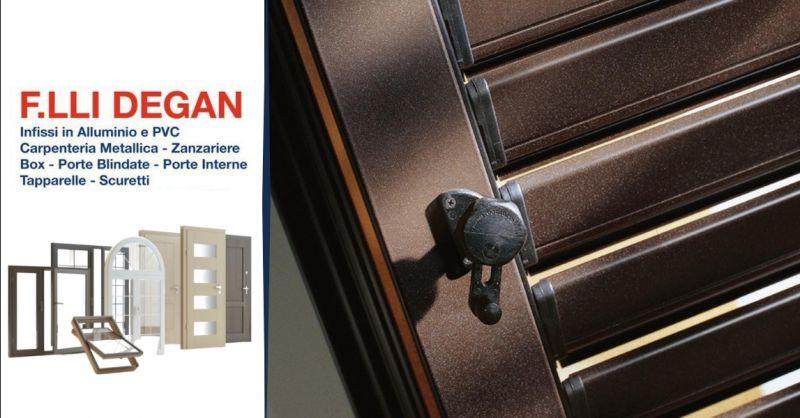 Promozione produzione scuri per finestre - occasione vendita persiane in alluminio pvc Verona