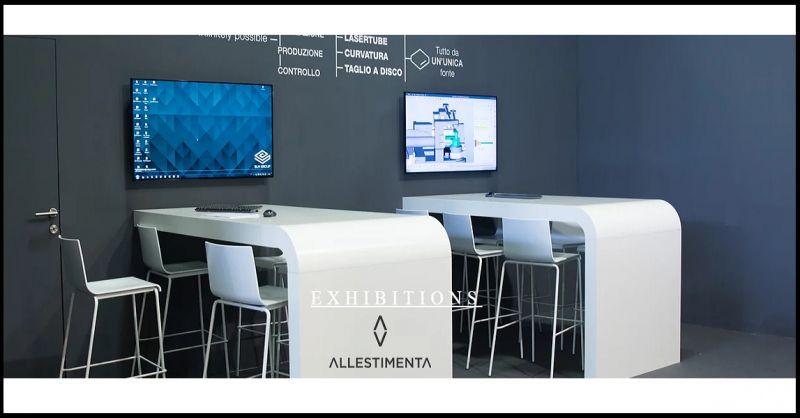 ALLESTIMENTA S.r.L. Offerta consulenza progettazione realizzazione stand fieristici made Italy