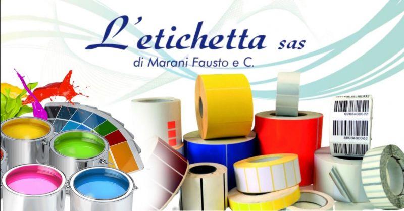 Offerta servizio stampa etichette da 1 a 8 colori - Occasione produzione etichette adesive in rotolo Verona