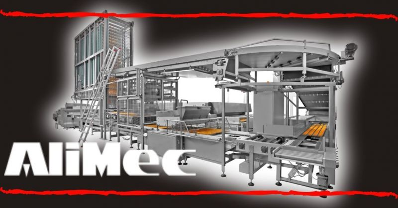 ALIMEC - Automatic Line for industrial production of Custard Cake Twinkie Donut Cake made Italy